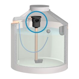 1. Stufe zur Reinigung von Regenwasser - Regenwasserfilter