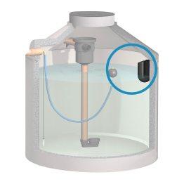 3. Stufe zur Reinigung von Regenwasser - Überlaufsiphon